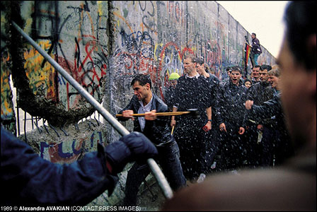 Destruction Of The Berlin Wall Contact Press Images